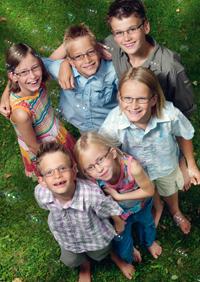 Szemüvegek gyermekek részére